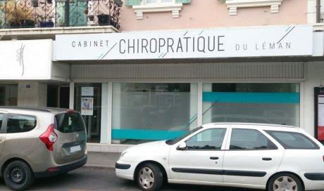 Docteur en chiropraxie Thonon-les-Bains